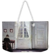 A Room In The Artist's Home In Strandgade, Copenhagen, With The Artist's Wife - Digital Remastered Weekender Tote Bag