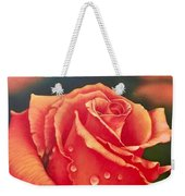 A Single Rose Weekender Tote Bag