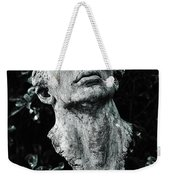 A Stone Bust In The Forest Weekender Tote Bag