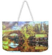 A Stop Along The Wey Weekender Tote Bag