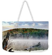 Sunrise Fog Landscape Weekender Tote Bag