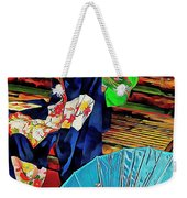 A Touch Of Japan Weekender Tote Bag