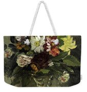 A Vase Of Flowers, 1833 Weekender Tote Bag