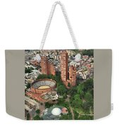 A View Of Downtown Bogota Weekender Tote Bag