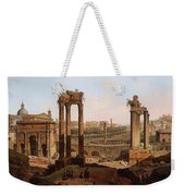 A View Of The Forum Romanum Weekender Tote Bag