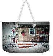 A Wisconsin Christmas Weekender Tote Bag