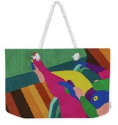 A Woman In A Chair Weekender Tote Bag