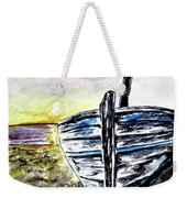 abandoned Fishing Boat No.2 Weekender Tote Bag by Clyde J Kell