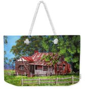 Abandoned Old Farm House Weekender Tote Bag