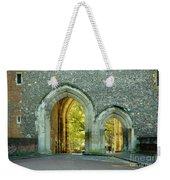 Abbey Gateway St Albans Hertfordshire Weekender Tote Bag