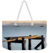 Aberdour Pier Weekender Tote Bag