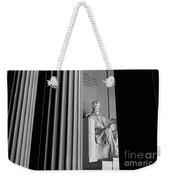 Abraham Lincoln Memorial Washington Dc Weekender Tote Bag by Edward Fielding