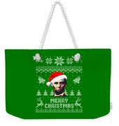 Abraham Lincoln Merry Christmas Weekender Tote Bag