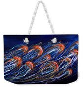 Abstract Dusk Weekender Tote Bag