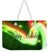 Abstract Holiday Weekender Tote Bag
