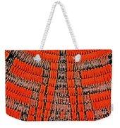 Abstract Oranges Blacks Browns Yellows Rows Columns Angles 3152019 5476 Weekender Tote Bag
