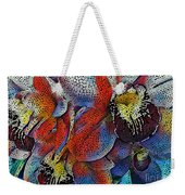 Abstract Orchids.  Weekender Tote Bag