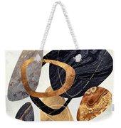 Abstract Pebbles IIi Weekender Tote Bag