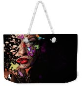 Abstract Portrait No 12 Weekender Tote Bag