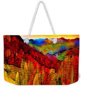 Abstract Scenic 3a Weekender Tote Bag