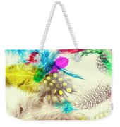 Abstract Softness Weekender Tote Bag