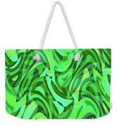 Abstract Waves Painting 0010075 Weekender Tote Bag