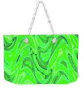 Abstract Waves Painting 0010082 Weekender Tote Bag