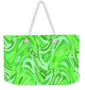Abstract Waves Painting 0010086 Weekender Tote Bag
