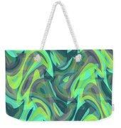 Abstract Waves Painting 0010088 Weekender Tote Bag