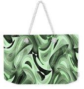 Abstract Waves Painting 0010095 Weekender Tote Bag