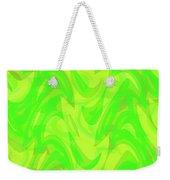 Abstract Waves Painting 0010099 Weekender Tote Bag
