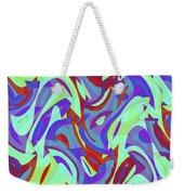 Abstract Waves Painting 0010102 Weekender Tote Bag