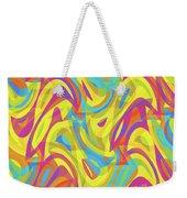 Abstract Waves Painting 0010109 Weekender Tote Bag