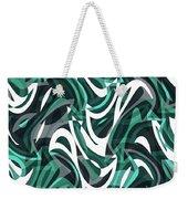 Abstract Waves Painting 0010112 Weekender Tote Bag