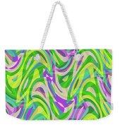 Abstract Waves Painting 0010113 Weekender Tote Bag