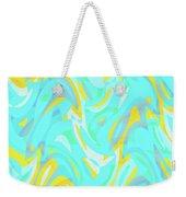 Abstract Waves Painting 0010114 Weekender Tote Bag