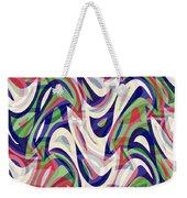 Abstract Waves Painting 0010118 Weekender Tote Bag