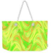 Abstract Waves Painting 007178 Weekender Tote Bag