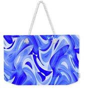 Abstract Waves Painting 007183 Weekender Tote Bag
