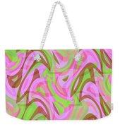 Abstract Waves Painting 007188 Weekender Tote Bag