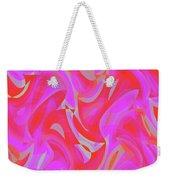 Abstract Waves Painting 007190 Weekender Tote Bag
