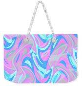 Abstract Waves Painting 007197 Weekender Tote Bag