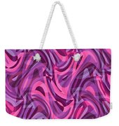 Abstract Waves Painting 007200 Weekender Tote Bag