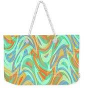 Abstract Waves Painting 007202 Weekender Tote Bag