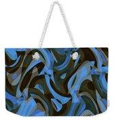 Abstract Waves Painting 007203 Weekender Tote Bag