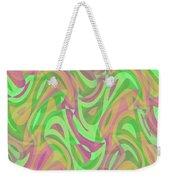 Abstract Waves Painting 007214 Weekender Tote Bag