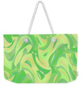 Abstract Waves Painting 007216 Weekender Tote Bag
