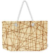 Abstract Web Background Weekender Tote Bag