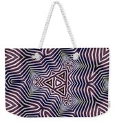 Abstract Zebra Design Weekender Tote Bag