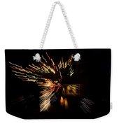 Abstracted Christmas - Luminous Fairy Lights Patterns Weekender Tote Bag
